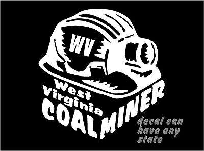 Coal Miner/'s Daughter Decal car truck window vinyl sticker graphic