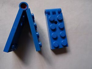 LEGO Part 3149C01 Black Hinge Plate 2 x 4 Classic Espace ville Planet