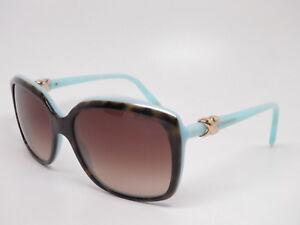 eb2f6b7c5c71d Tiffany   Co TF 4076 8134 3B Top Havana   Blue w Brown Gradient ...