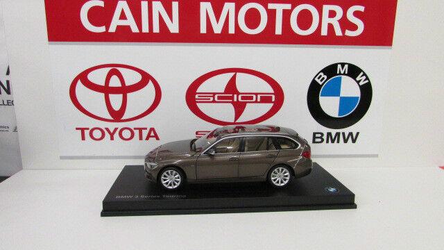 BMW Série 3 F31 TOURING Mousseux Bronze 1 18th FACTORY BMW Diecast