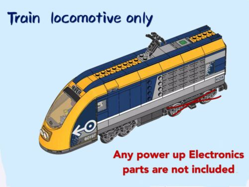 LEGO City Passenger Train 60197 Locomotive Only No Power Up Parts Brand New