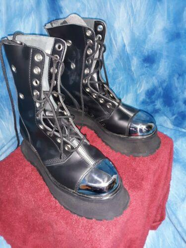 Demonia gravedigger mens boots size 11