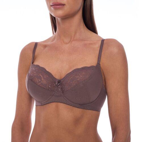 Minimizer Sheer Lace Unlined Plus Size Comfort Full Coverage Sleep Figure Bra