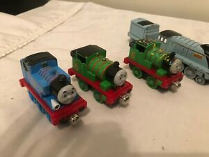 Details about Lot of 9 Thomas and Friends Metal Die Cast Train and cars  Spencer Toby Ben