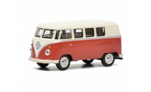 #452017100 - Schuco VW T1 Bus - rot/beige (20171) - 1:64