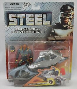 Shaq-Steel-Assault-Cycle-W-Blasthammer-NEW-Sealed-Action-Figure-Kenner-1997