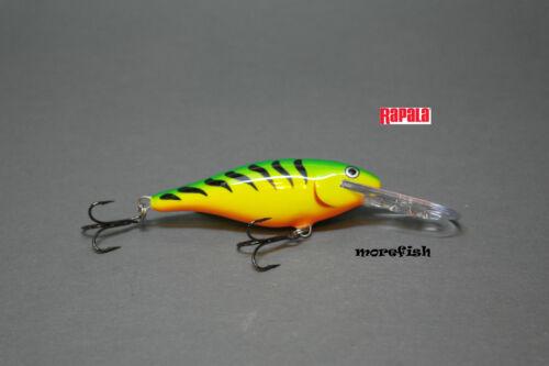 FT Rapala Wobbler Shad Rap 7cm SR07 Firetiger