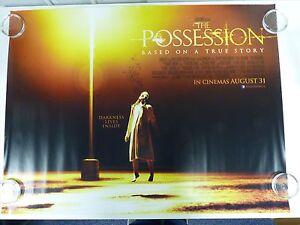 Die Possession Horror Thriller Original Film / Filmposter Quad 76x102cm