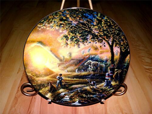 """Harvest Memories"" WILD WINGS by Terry Redlin Plate Collection"