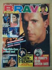 BRAVO 50 5.12. 1991 Arnold Schwarzenegger Marky Mark Michael Jackson Falco