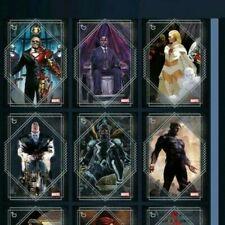 Topps Marvel Collect Card Trader Orange Week 1 Base Series Tier 6 Set of 7