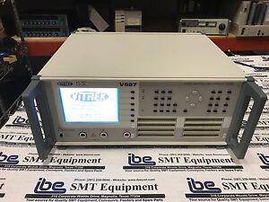 image is loading vitrek 4 wire cable harness tester model v687