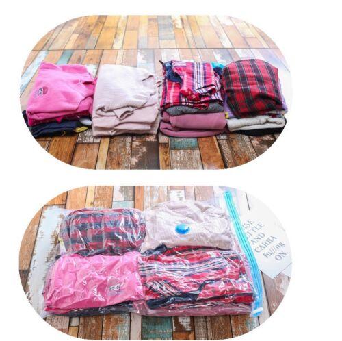 50 x 70 cm Grand vide sacs de stockage ÉCONOMIE D/'ESPACE COMPRESSÉS sacs