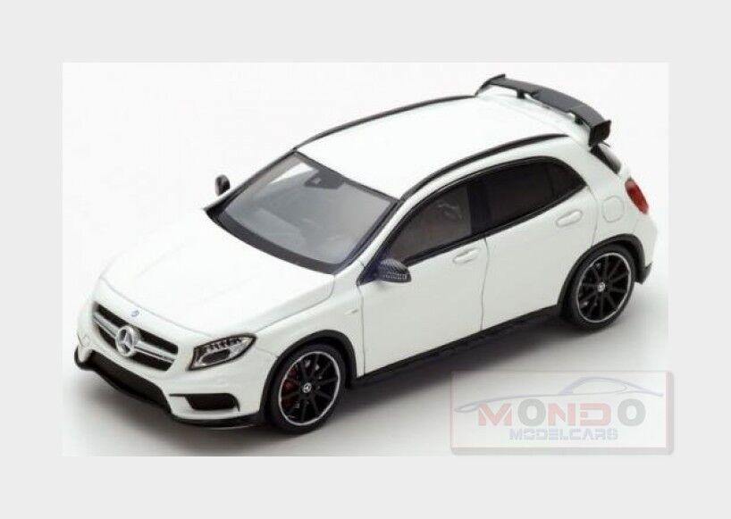 Mercedes Benz Gla-Class Gla45 Amg 2016 blanc SPARK 1 43 S4911