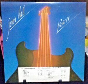 JOHN HALL Power Album Released 1979 Vinyl/Record  Collection US pressed