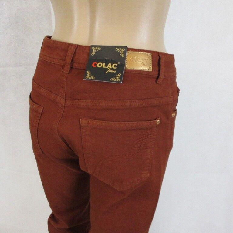 Colac Jeans Martha in der Farbe rot Größe 40