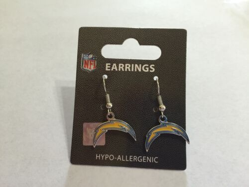 Los Angeles Chargers NFL Earrings~Choose Your Style:Dangle//Post