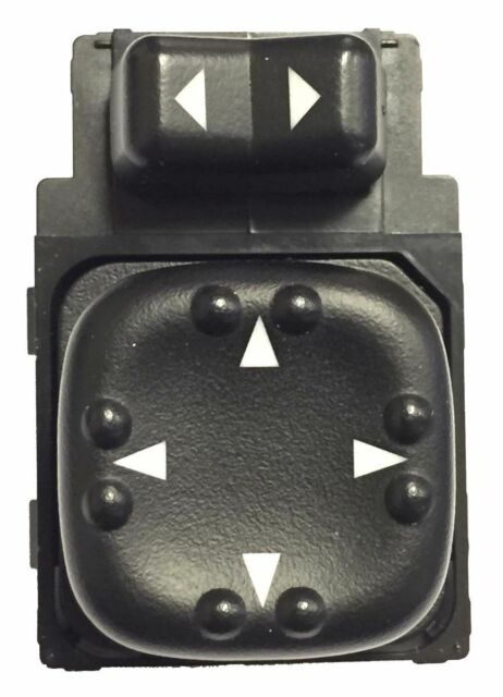 Power Mirror Switch, 2-Button - Front Left - Replaces OE# 15045085, 19259975