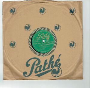 78T-25-cm-ALIBERT-Disk-Phonograph-Sung-FAREWELL-VENICE-PROVENCAL-PATHE-477