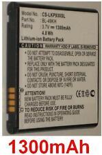 Batterie 1300mAh type BL-49KH EAC61678801 Pour LG P930