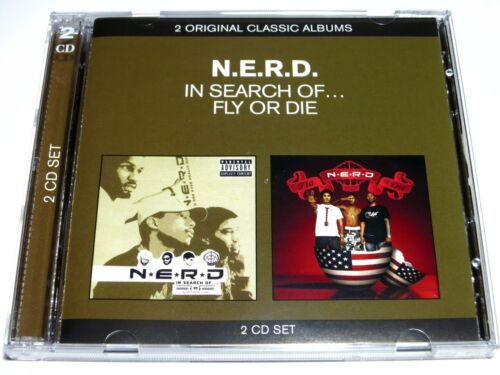 1 of 1 - cd-album, N.E.R.D. - In Search Of / Fly Or Die, 2CD