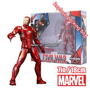 Iron-Man-Tony-Stark-Marvel-Avengers-Legends-Comic-Heroes-7in-18cm-Action-Figure