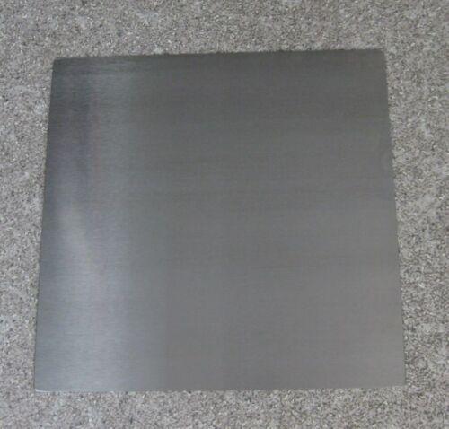 Druckplatte Grundplatte 235x235x1,0mm CrNi-Stahlblech für 3D Drucker