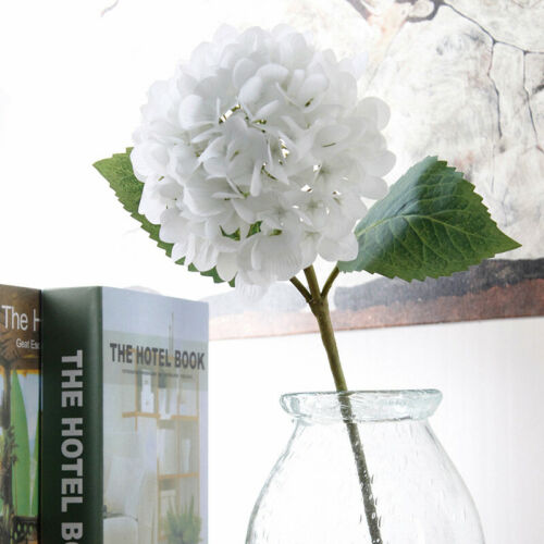 Artificial Hydrangea Flower With Flower Rod DIY Party Home Wedding Decoration