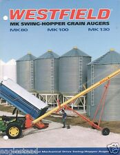 Farm Equipment Brochure - Westfield - MK 80 100 130 - Grain Auger c1997 (F2919)