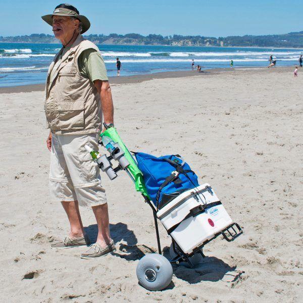 Globo Wheeleez Mini Beach Cochero Ruedas transportar hasta 77 libras