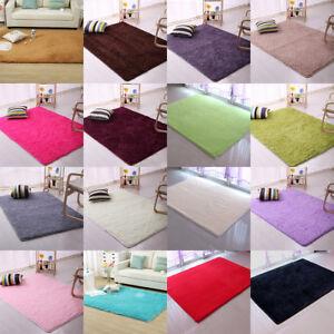 Anti-Skid-Fluffy-Floor-Rugs-Shaggy-Soft-Floor-Mat-Multi-Size-Sofa-bedroom-Carpet