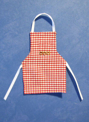 1/12 dolls house Kitchen, miniature Apron Pinny Maid doll Cook Chef shop LGW