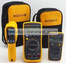 Soft Casebag For Fluke Multimeters 15b 17b 18b 115 116 117 175 177 179 Fit C35