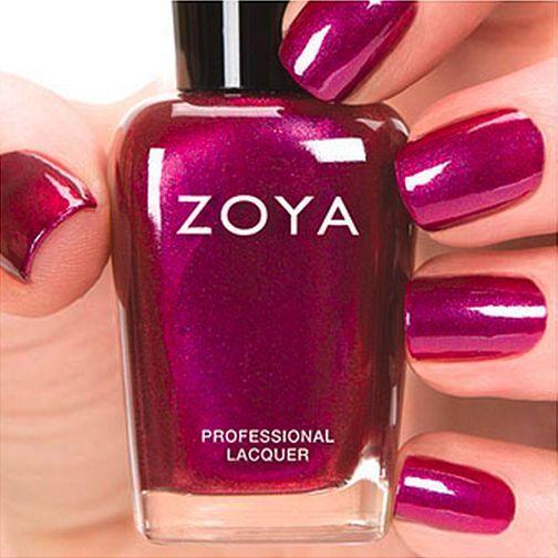 Zoya #zp692 Mason Red Violet Pink Metallic Nail Polish Lacquer ...
