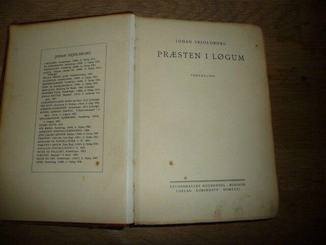 præsten i løgum 1, Johan Skjoldborg, genre: roman