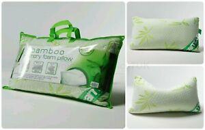 Nuevo-De-lujo-de-bambu-almohada-de-espuma-de-memoria-anti-bacteriano-Almohada-de-Soporte-Premium