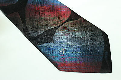 VALENTINO Silk tie E36070 Made in Italy man classic