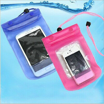 """Waterproof Pouch Dry Bag Universal Pack Case For Apple 4.7"""" iPhone 6 5.5"""" 6 Plus"""
