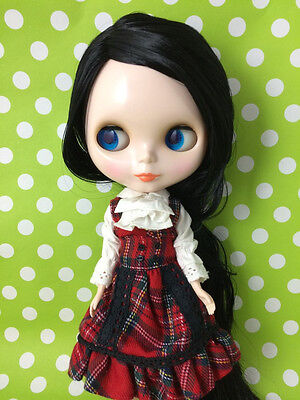 "Takara 12"" Neo Blythe Doll Black Hair Nude Doll from Factory  JSN009 +Gift"