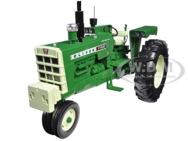 Oliver 1750 GAS NARROW FRONT tracteur avec radio poids avant 1 16 specCast SCT510