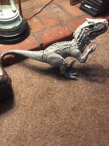 """Hasbro Jurassic World 2014 Indominus Rex 20 """"Lumières Et Son Utilisé Déchirer"""