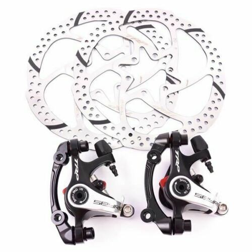 TRP SPYRE Alloy Mechancial Disc Brake Caliper with 160mm Rotor Front //Rear //Set