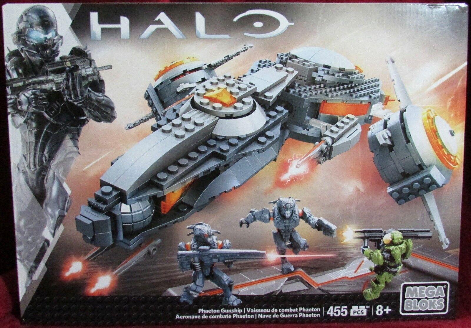 Mega Bloks - Halo - Phaeton Gunship CNG67 - Interchangeable Armor System - NEW