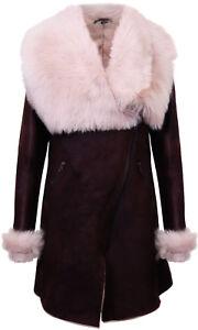 Mantel mit lammfellfutter damen
