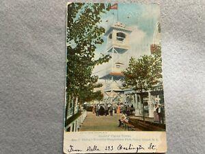 Gladys' Chime Tower, Coney Island, New York Vintage 1907 Postcard