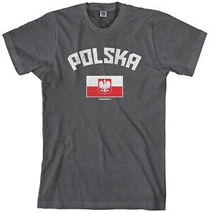 Poland Polish Flag Country Pride Polska Men/'s Tank Top T-shirt