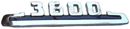 1953 1954 Hood Side Chrome Black Emblem 3600 Chevrolet Pickup Truck EACH