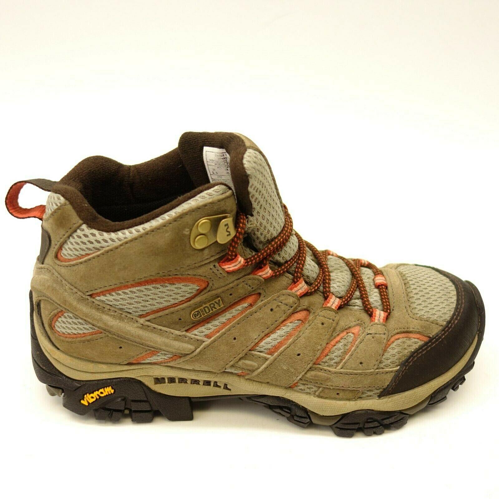 Merrell Moab 2 Mid US 8.5 Eu 39 Wandern Wasserdicht Athletic Damen Stiefel