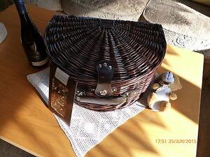 Picknickkorb-fuer-2-Personen-Weidengeflecht-NEU