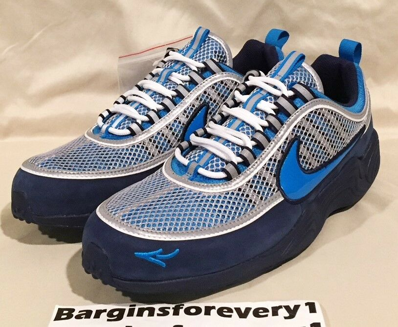 New Nike Air Zoom Spiridon '16 / Stash - Size 11 - Harbor Blue - AH7973-400